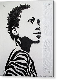I've Earned My Stripes Acrylic Print