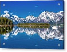 Jackson Lake Acrylic Print