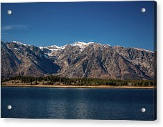 Acrylic Print featuring the photograph Jackson Lake Wyoming by Pete Federico