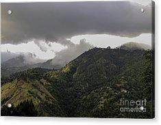 Jamaican Blue Mountains Acrylic Print
