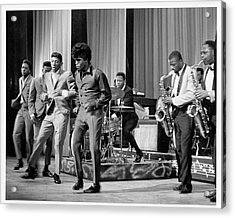 James Brown And Famous Flames At The Acrylic Print