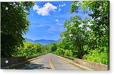 James River Bridge, Blue Ridge Parkway, Va. Acrylic Print