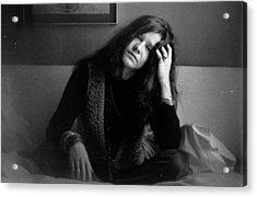 Janis Joplin Acrylic Print by Evening Standard