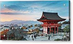 Japan - Kyoto. Kiyomizu Temple Acrylic Print
