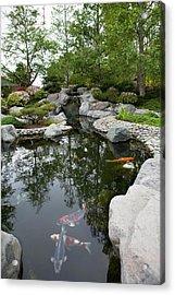 Japanese Friendship Garden Acrylic Print by Meltonmedia