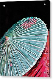 Acrylic Print featuring the photograph Japanese Parasol Study 2 by Dorothy Berry-Lound