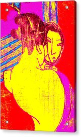 Japanese Pop Art Print 1 Acrylic Print