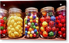 Acrylic Print featuring the photograph Jaw Breakers by Joan Reese