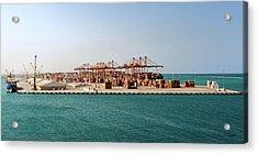 Jeddah Seaport Acrylic Print