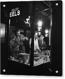 Jellied Eel Stall Acrylic Print