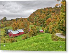 Acrylic Print featuring the photograph Jenne Farm by Juergen Roth