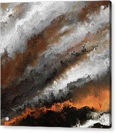 Jeremiah 20 9 Fire In My Heart Acrylic Print