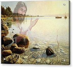 Jesus, Come Follow Me Acrylic Print