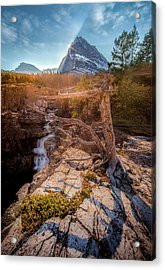 Acrylic Print featuring the photograph Jewel Of The Rockies / Many Glacier, Glacier National Park  by Nicholas Parker