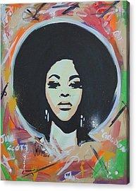 Jill So Beautiful Acrylic Print