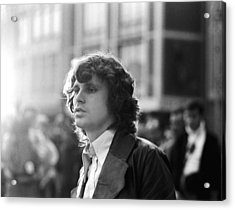 Jim Morrison Acrylic Print by Michael Ochs Archives