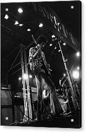 Jimi At Festival Acrylic Print