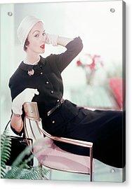Joan Friedman In Harry Frechtel Acrylic Print