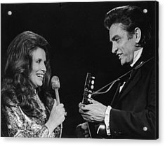 Johnny And June Acrylic Print