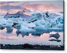 Jokulsarlon Glacier Lagoon, Iceland Acrylic Print