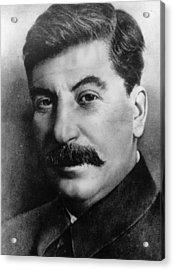 Josef Stalin Acrylic Print by Hulton Archive