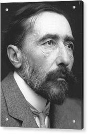 Joseph Conrad Acrylic Print by George C. Beresford