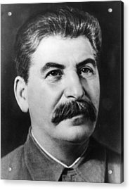 Joseph Stalin Acrylic Print by Fox Photos