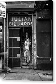 Julian Billiards Acrylic Print
