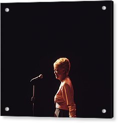 June Christy Performs At Newport Acrylic Print by David Redfern