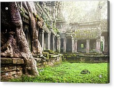 Acrylic Print featuring the photograph Jungle Temple 1 by Nicole Young