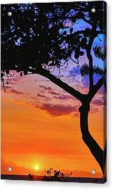 Just Another Kona Sunset Acrylic Print