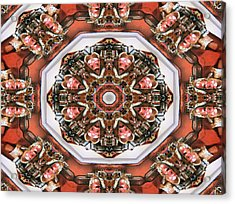 Kaleidoscope Of Apple Still Life Acrylic Print