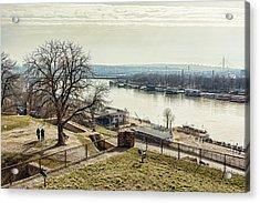 Kalemegdan Park Fortress In Belgrade Acrylic Print
