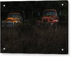 Karly's Trucks Acrylic Print