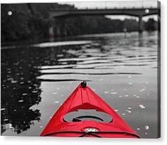 Kayaking The Occoquan Acrylic Print