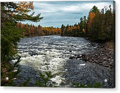 Acrylic Print featuring the photograph Kennebec River by Rick Hartigan