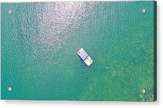 Keuka Lake Boating Acrylic Print