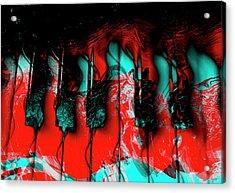 Keys In Motion Acrylic Print