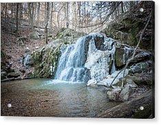 Kilgore Falls In Winter Acrylic Print