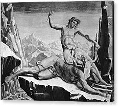 Killing The Minotaur Acrylic Print by Hulton Archive