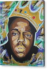 King Christopher Acrylic Print