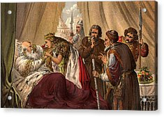 King Lear Acrylic Print by Hulton Archive