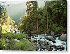 Kings River 1-7824 Acrylic Print by Stephen Parker