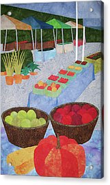 Kings Yard Farmers Market Acrylic Print