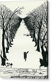 The Cat That Walked By Himself Acrylic Print