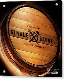Knob Creek Barrel Acrylic Print