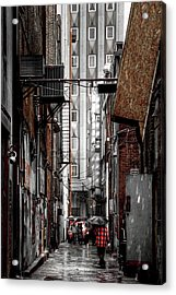 Knoxville Alley Acrylic Print