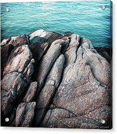 Ko Samet Rocks Acrylic Print