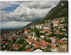 Kruja, Albania Acrylic Print by Azem Ramadani