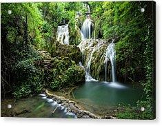 Krushunski Waterfalls Acrylic Print